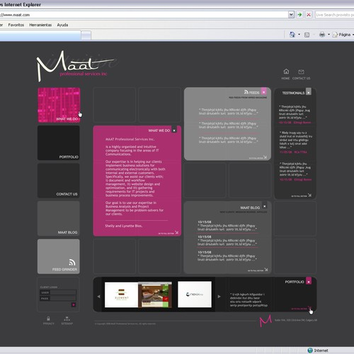 Design finalisti di MM-studio