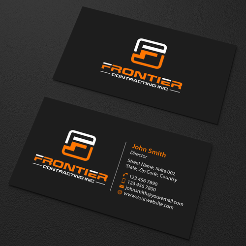 Simple but attractive business card business card contest runner up design by an designer colourmoves
