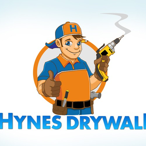logo for Hynes Drywall | Logo design contest