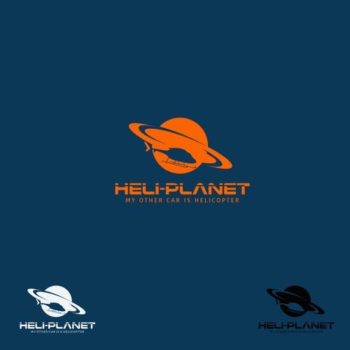 heliplanet logo logo design contest