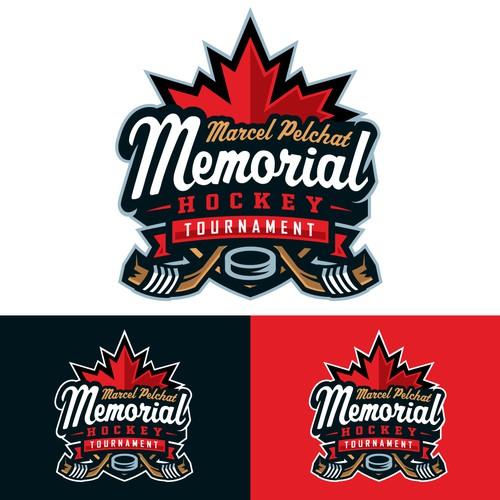 Design A Logo For A Memorial Hockey Tournament Logo Design Contest