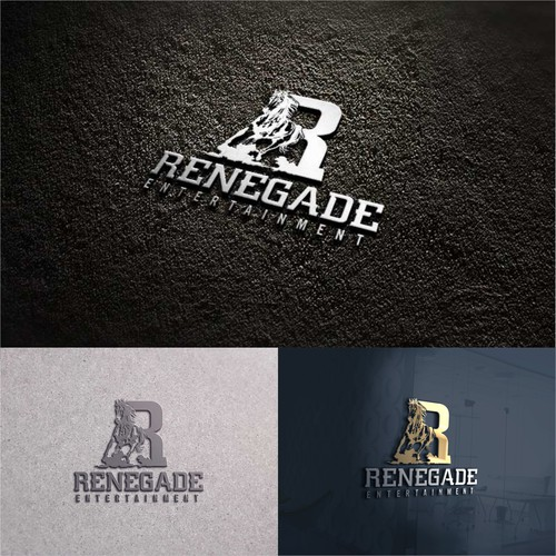 Entertainment Film & TV Studio Branding - Logo - RENEGADES need only apply Design by RTRA