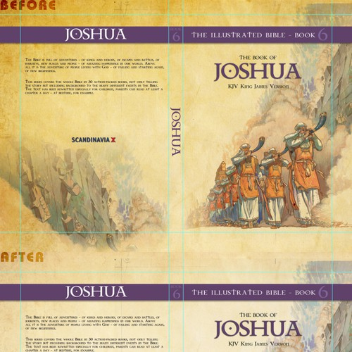 Best Illustrated Book Covers : Book cover layout for illustrated books of the bible