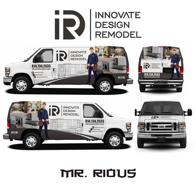 Design vincitore di Mr. Rious