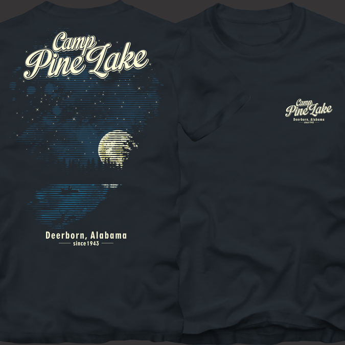 Create a outdoor vintage camp illustration | T-shirt contest