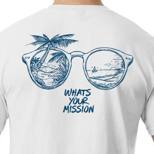 Design a cool surf style t-shirt for adventure company Design by BRTHR-ED