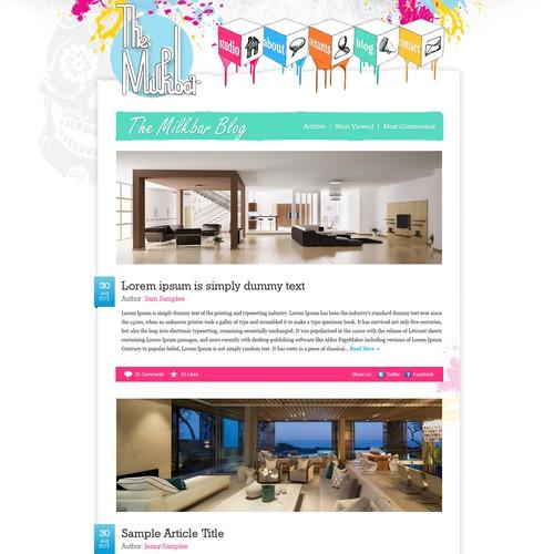 Design finalista por GangmaZ