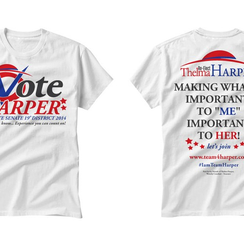 Design A Modern Political Campaign T Shirt Design Will Select