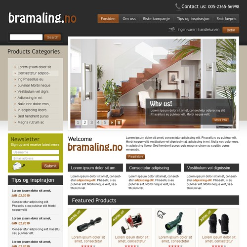 Runner-up design by webmedia