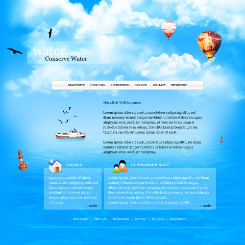 Runner-up design by kartoni-webdesign