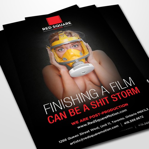 Video Post Production Company flyer Design by GrApHiCaL SOUL