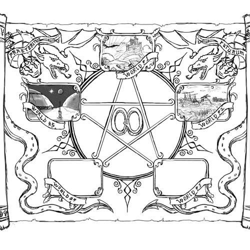 Runner-up design by THE ELDER TREE