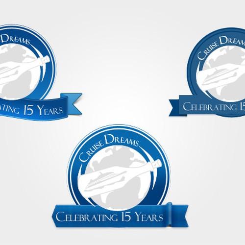 Create A 15 Year Anniversary Logo For Cruise Dreams Logo Design Contest 99designs