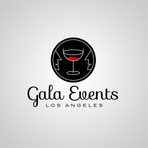 i love you letter logo for gala events los angeles logo design contest 22517 | attachment 22517914
