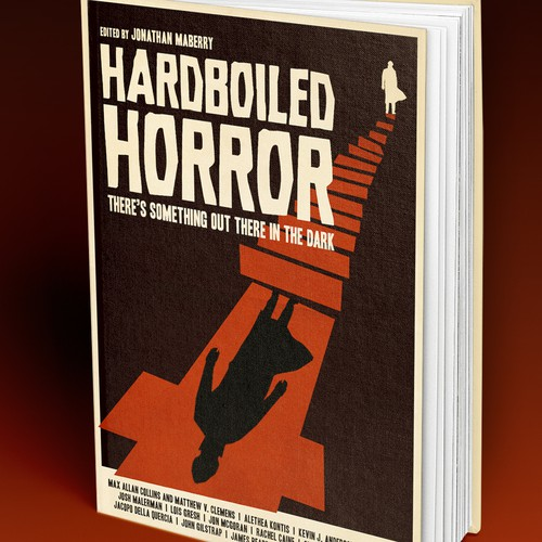 Old School Book Cover ~ Old school horror noir detecive book cover