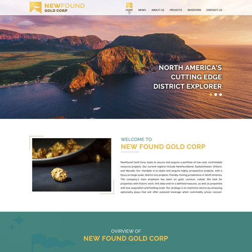 Runner-up design by Perfect Pixels