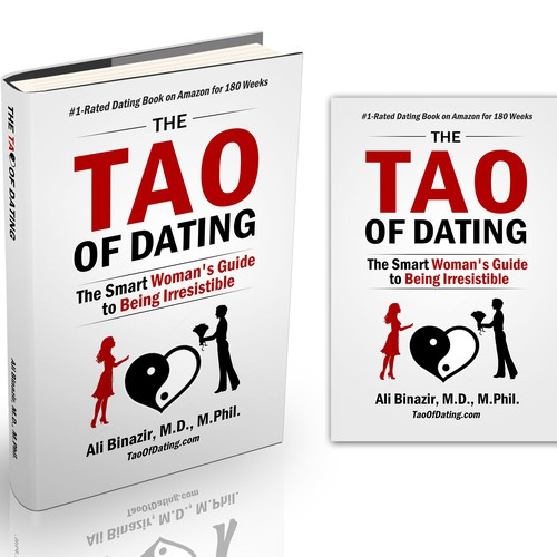 "Redesign the cover of ""The Tao of Dating"", the highest-rated dating book for women Design by Alex_82"