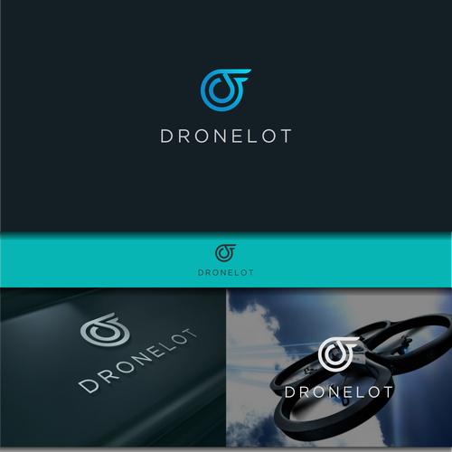 create a logo for dronelot an online drone shop that buys and sells certified pre owned drones. Black Bedroom Furniture Sets. Home Design Ideas