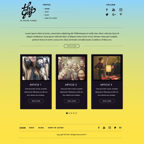 Design finalisti di Cldesignz