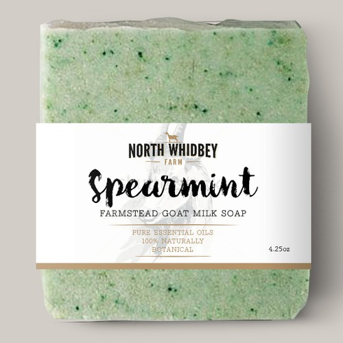 Create a striking soap label for our natural soap company with more work in the future Design von Double_J