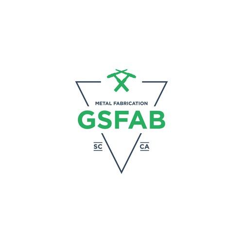 Fab Shop Logo: Logo For Custom Metal Fabrication Shop