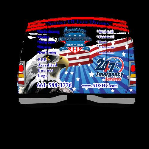 Runner-up design by Adnandizajn