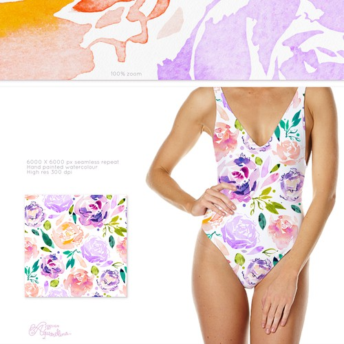 Diseño finalista de Aquarellina