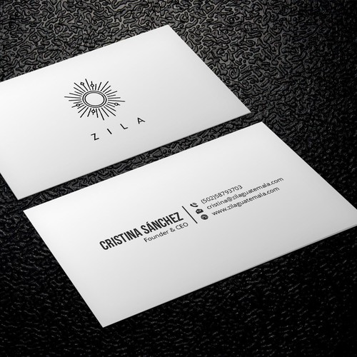 Business card for handmade jewelry brand inspired in mayan symbols runner up design by xclusive16 colourmoves