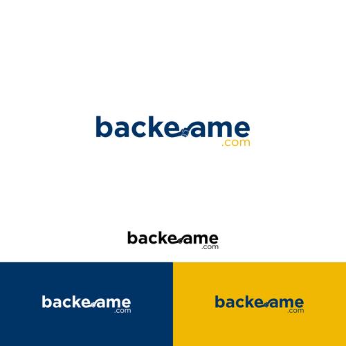 design a crowdfunding logo for backeamecom logo design