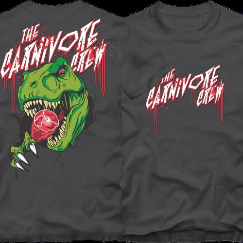 Carnivore Crew Teamshirt Design by -septariki-
