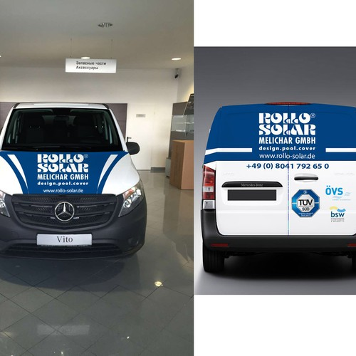 New car wraps for our two service vans premium pool for Xenserver pool design