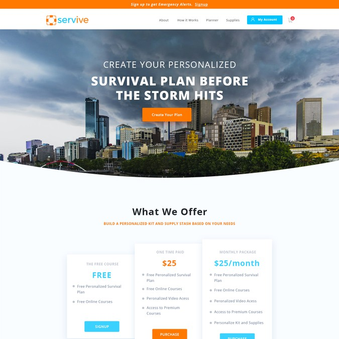 Winning design by Web & Graphic Studio
