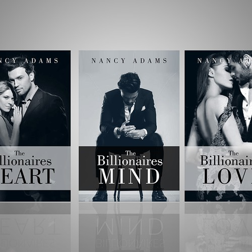 Create Appealing Romance Cover for New Billionaire Romance Trilogy! Design by SOLIDNORTHDS