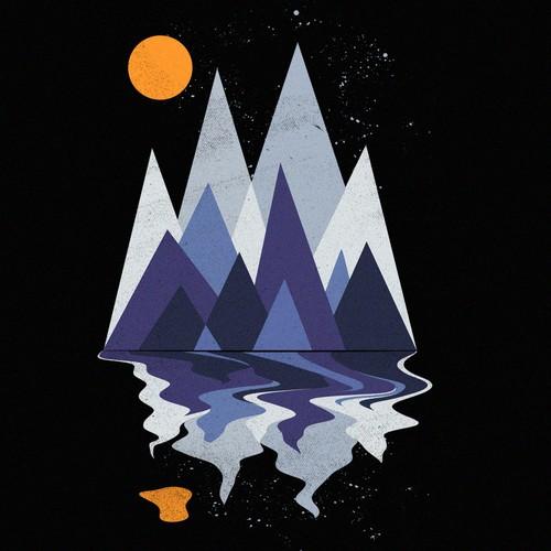 Mountain scene Design by Dudeowl