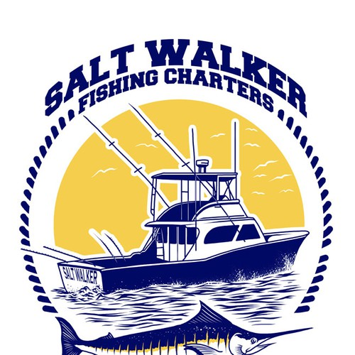 Texas fishing charter boat needs a great t-shirt design!   T