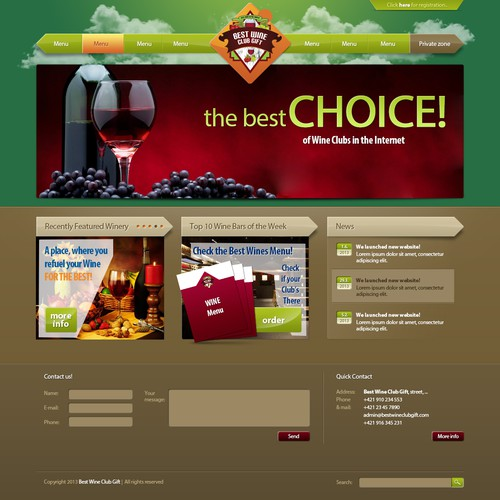 Runner-up design by UK Graphics