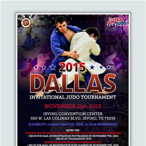 Dallas Invitational Poster | Flash banner contest
