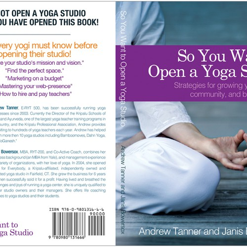 Pleasant So You Want To Open A Yoga Studio Book Cover For Yoga Advisor Largest Home Design Picture Inspirations Pitcheantrous