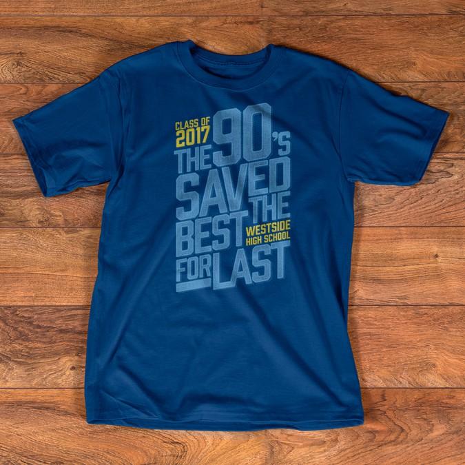 Design a High School Senior Class T-shirt for www ...