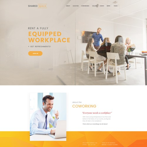 Runner-up design by Web Helper