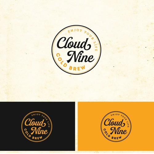 Cloud Nine Cold Brew Contest Design by Keyshod