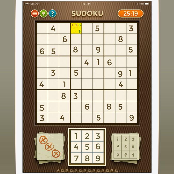 Create The Design For Our Next FRVR Game (Sudoku)