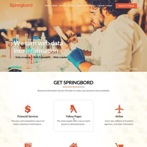 Runner-up design by SpellWebDesign