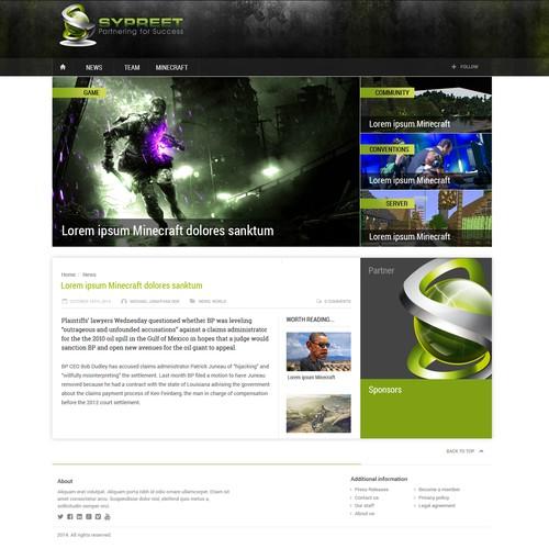 Runner-up design by Prodeesign