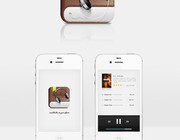 Mobile app design by Gustav Ågren