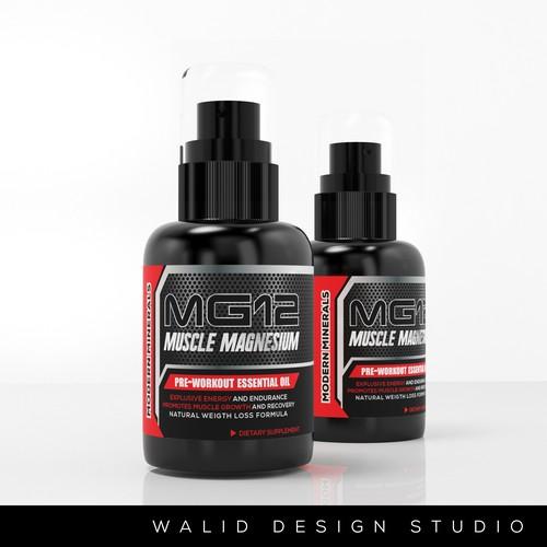 Runner-up design by Walid Designs Studio