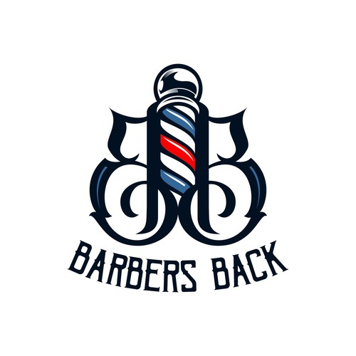 create a dope logo for high quality barber apparel