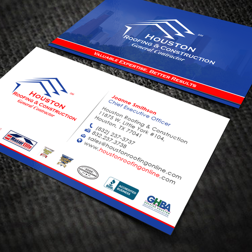 New business card layout for existing construction company runner up design by oeingartmindz colourmoves