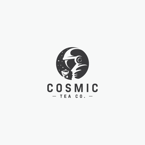 Cosmic Tea Co. - Blending Science and Tradition Design von giyan