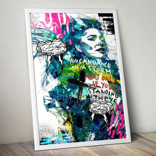 Runner-up design by -Marnov Studio™